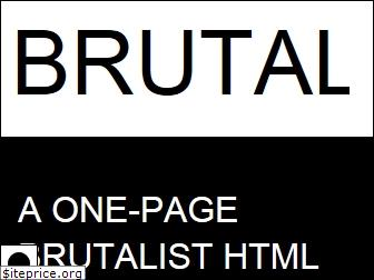 www.brutalist.design website price