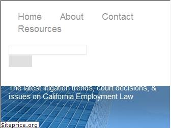 californiaemploymentlawreport.com