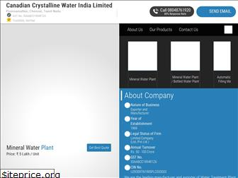 canadiancrystalline.co.in