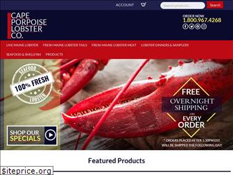 capeporpoiselobster.com