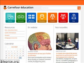 www.carrefour-education.qc.ca website price