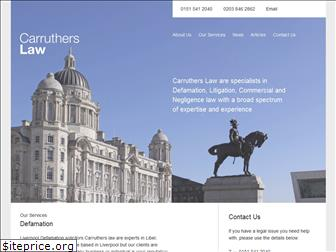 carruthers-law.co.uk