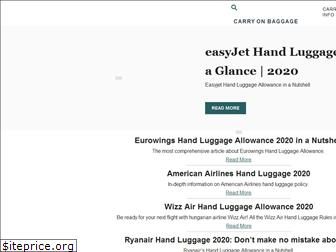 carry-on-baggage.com