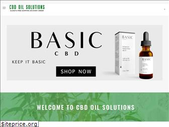 www.cbd-oil.solutions website price