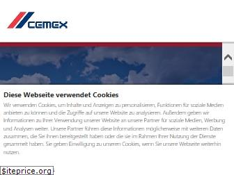 www.cemex.de website price