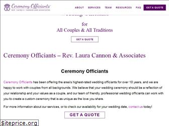 ceremonyofficiants.com