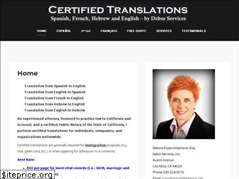 certifytranslation.com