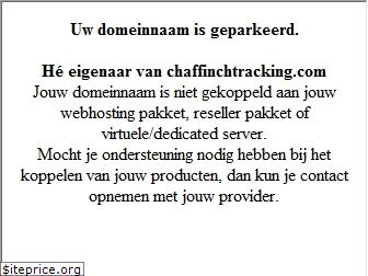 chaffinchtracking.com