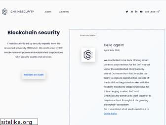 chainsecurity.com