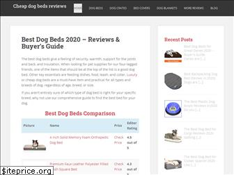 cheapdogbedsreviews.com