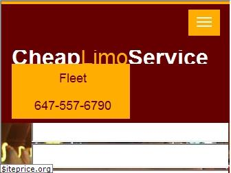 www.cheaplimousineservice.ca website price