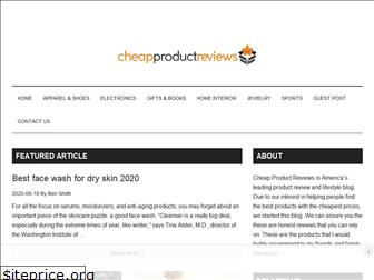 cheapproductreviews.com