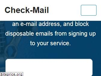 check-mail.org