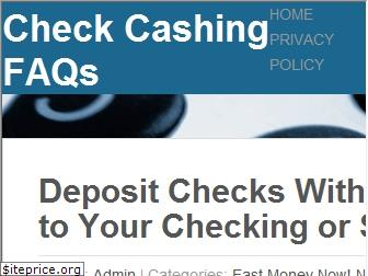 checkcashingfaqs.com