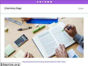 chemistrypage.in