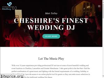 cheshireweddingdj.com
