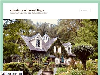 chestercountyramblings.com