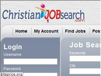 christianjobsearch.com