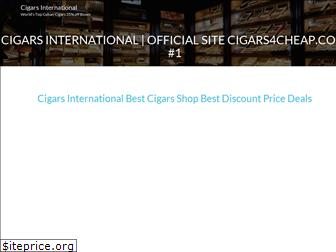 www.cigarsinternational.us website price