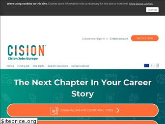 cisionjobs.co.uk