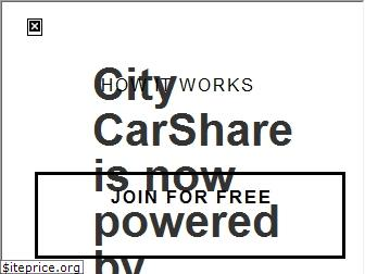 www.citycarshare.org website price