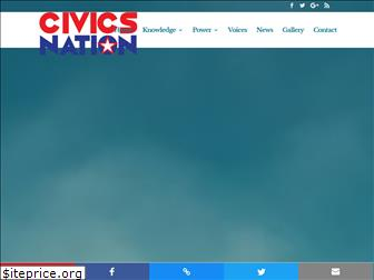 www.civicsnation.org website price