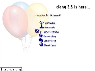 clang.org