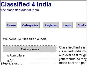classified4india.com
