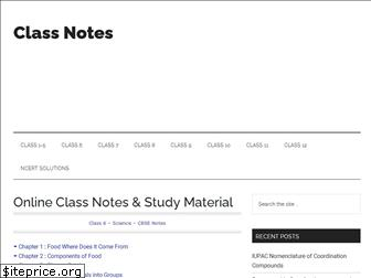 classnotes.org.in