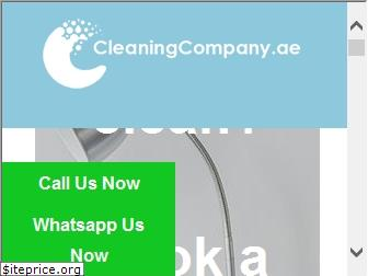 www.cleaningcompany.ae website price