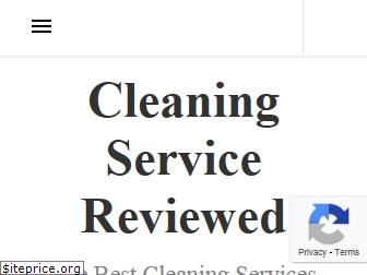 cleaningservicereviewed.com