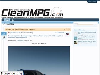 cleanmpg.com