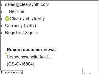 clearsynth.com