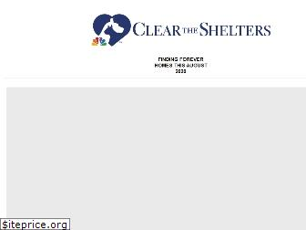 cleartheshelters.com