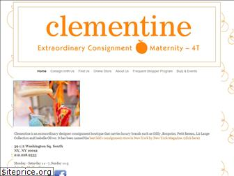 clementineconsignment.com