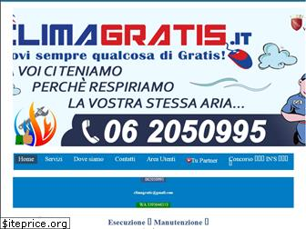 www.climagratis.it website price