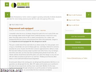 climatedisobedience.org