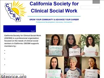 clinicalsocialworksociety.org