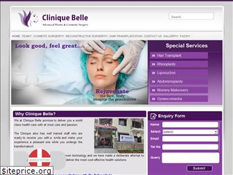 cliniquebelle.in
