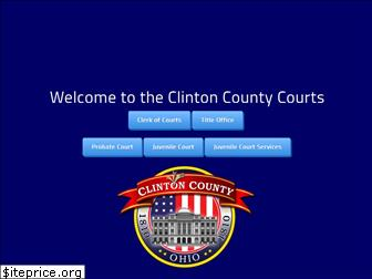 clintoncountycourts.org