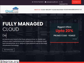 cloudfirst.in