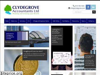 clydegroveaccountants.co.uk