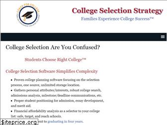 collegeselectionstrategy.com