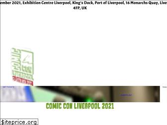 comicconventionliverpool.co.uk
