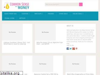 commonsensewithmoney.com