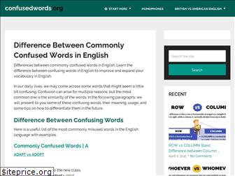 confusedwords.org
