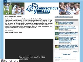 conncollegesoccercamps.com