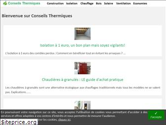 conseils-thermiques.org