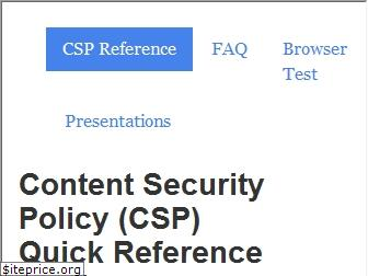 content-security-policy.com