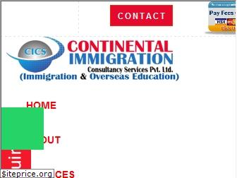 continentalimmigration.co.in